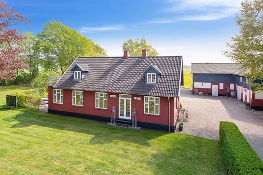 Villa på Trælløsevej i Herlufmagle - Facade