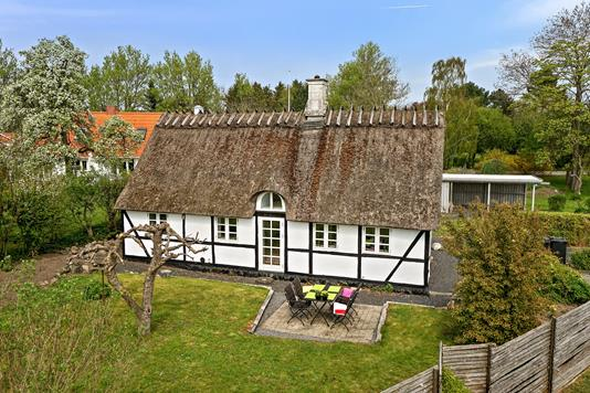 Villa på Englebjergvej i Næstved - Set fra haven