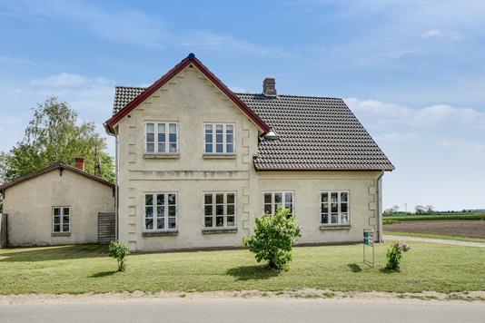 Villa på Søndergade i Næstved - Set fra vejen