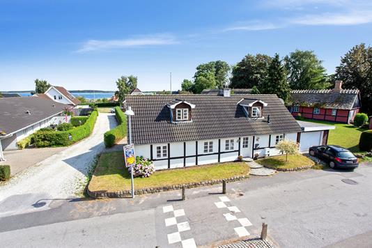 Villa på Bygaden i Karrebæksminde - Facade