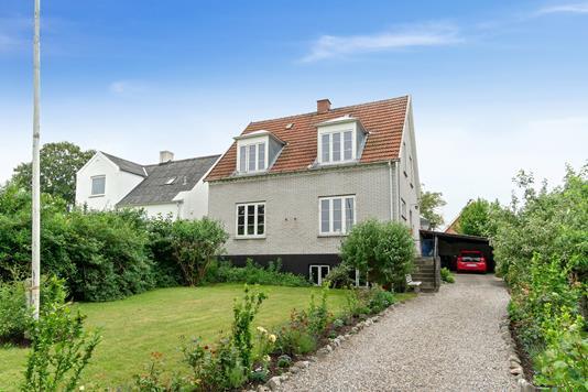 Villa på Nygårdsvej i Næstved - Set fra vejen