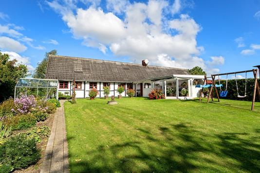 Villa på Nr Tvedevej i Holmegaard - Facade