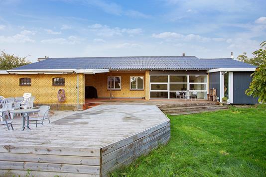 Villa på Platanvej i Holmegaard - Terrasse