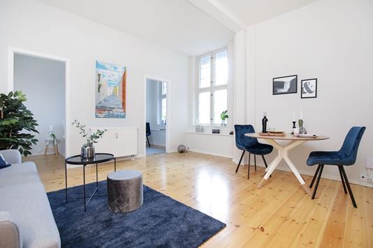 Ejerlejlighed på Holger Danskes Vej i Frederiksberg - Stue
