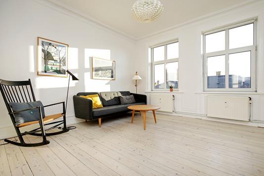 Ejerlejlighed på Forhåbningsholms Alle i Frederiksberg C - Stue