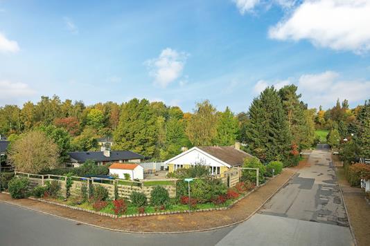 Villa på Vejdammen i Holte - Have