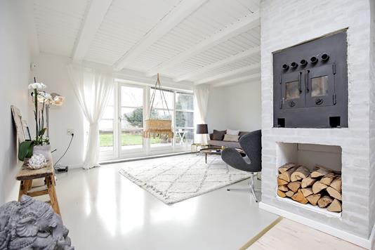 Villa på Perlevej i Hvidovre - Stue