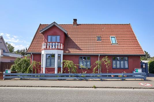 Villa på Nyvej i Liseleje - Ejendommen
