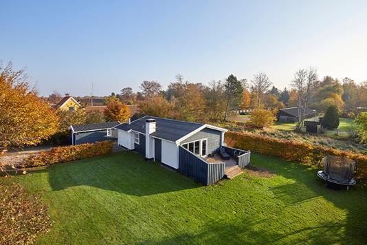 Villa på Melbyvej i Liseleje - Ejendommen