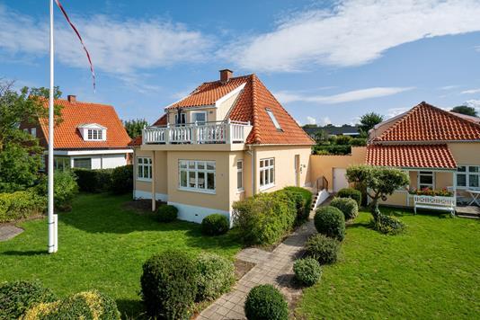Ejerlejlighed på Søndergade i Hundested - Set fra haven