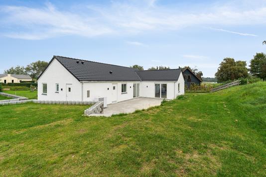 Villa på Engdraget i Hundested - Set fra haven