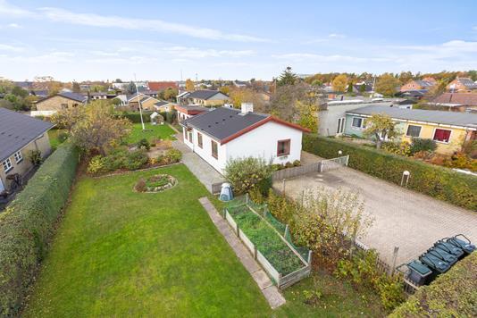 Villa på Engholm Alle i Hvidovre - Set fra haven