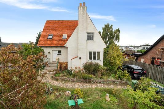 Villa på Brostykkevej i Hvidovre - Set fra haven