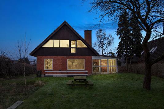 Villa på Engstrupgårdsvej i Hvidovre - Set fra haven