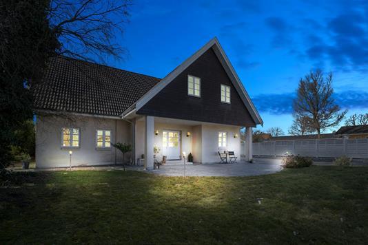 Villa på Zeus Boulevard i Hvidovre - Set fra haven