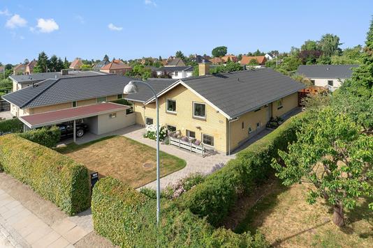 Villa på Sydkærsvej i Hvidovre - Set fra vejen
