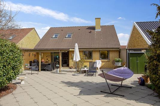 Villa på Sandholtvej i Hvidovre - Terrasse
