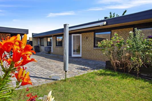 Rækkehus på Grundkær i Hvidovre - Set fra haven