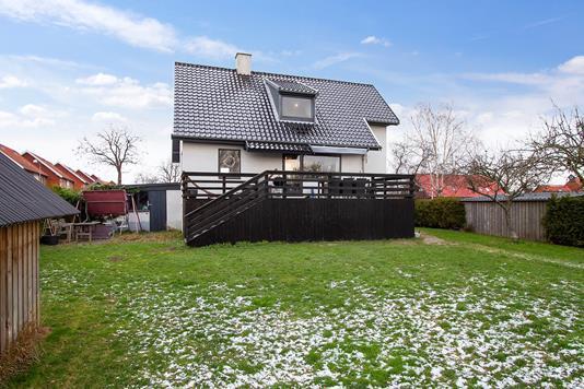 Villa på Strandløbervej i Hvidovre - Set fra haven