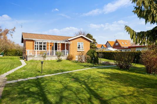 Villa på Kirkebroen i Hvidovre - Set fra haven