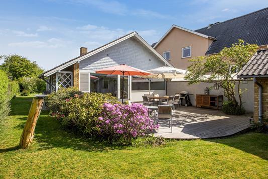Villa på Lodsvej i Hvidovre - Set fra haven
