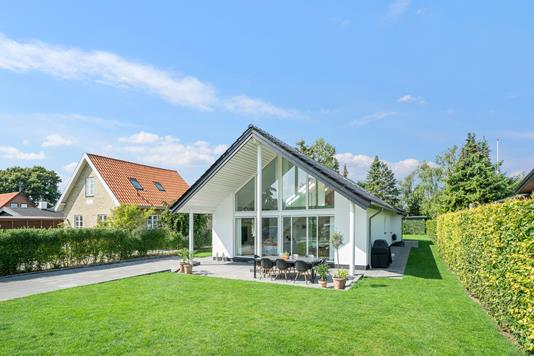 Villa på Krebsevej i Hvidovre - Set fra haven