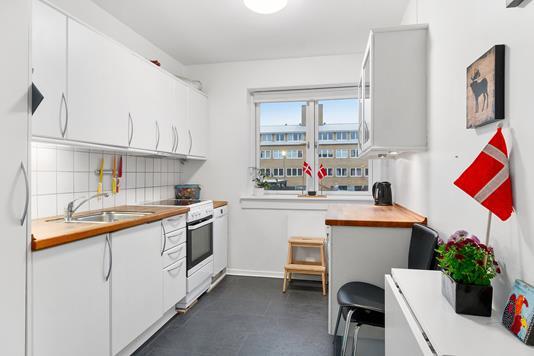 Ejerlejlighed på Næsborgvej i Hvidovre - Køkken