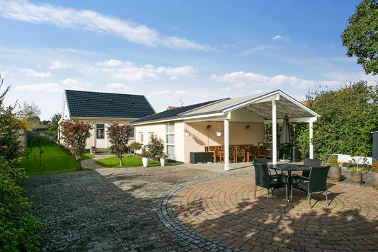 Villa på Lerbjergvej i Hvidovre - Terrasse