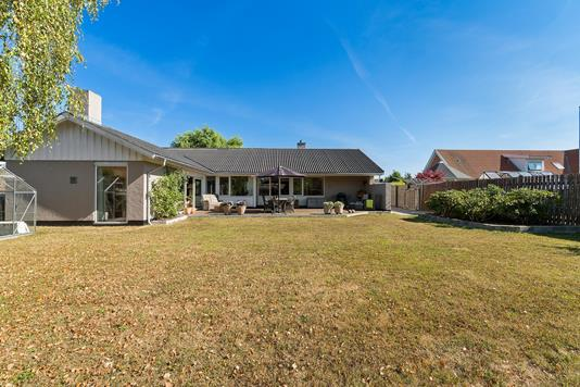 Villa på Konkylievej i Hvidovre - Set fra haven