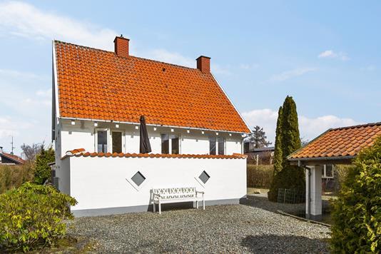 Villa på M Bechs Alle i Hvidovre - Terrasse