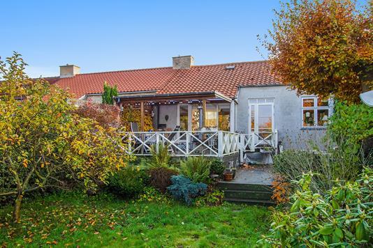 Villa på Lellinge Alle i Hvidovre - Set fra haven