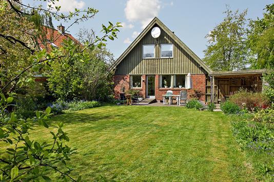 Villa på Greve Alle i Hvidovre - Set fra haven