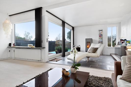 Villa på Byvej i Hvidovre - Stue