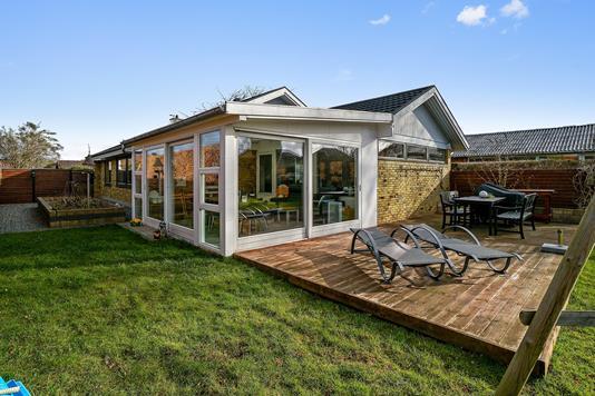 Villa på Risbjergvej i Hvidovre - Set fra haven