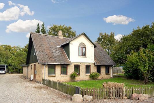 Villa på Sct.Annagade i Odder - Ejendommen