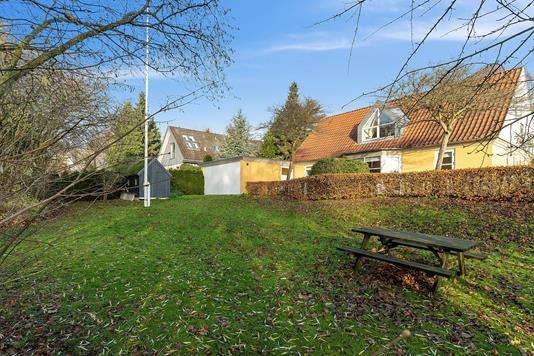 Villa på Stampmøllevej i Odder - Set fra haven
