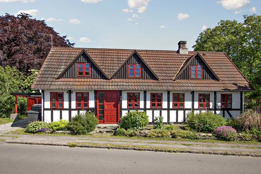 Villa på Hovedgaden i Odder - Ejendommen