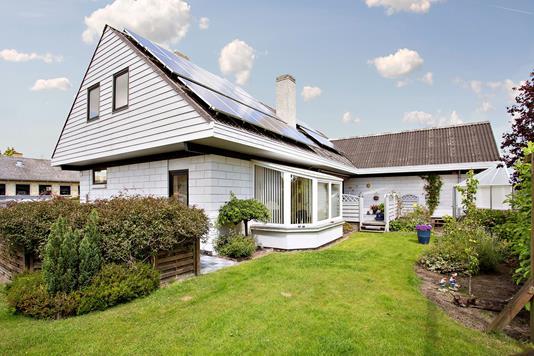 Villa på Lærkevej i Odder - Set fra haven