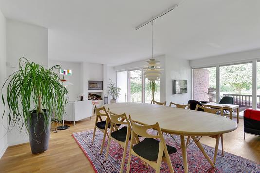 Villa på Torvald Køhlsvej i Odder - Stue