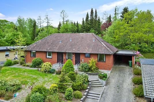 Villa på Torvald Køhlsvej i Odder - Mastefoto
