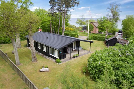 Fritidsbolig på Østpassagen i Odder - Set fra haven