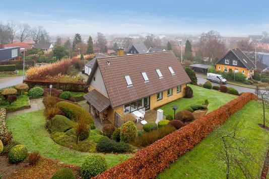 Villa på Borgergade i Odder - Set fra haven