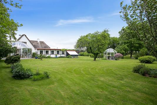 Villa på Toldvejen i Odder - Set fra haven