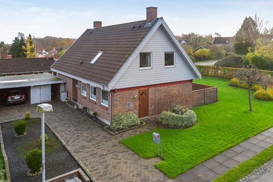 Villa på Vesterled i Odder - Ejendommen