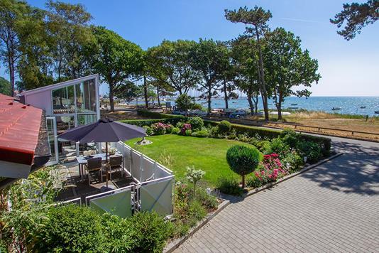 Villa på Strandgade i Odder - Mastefoto