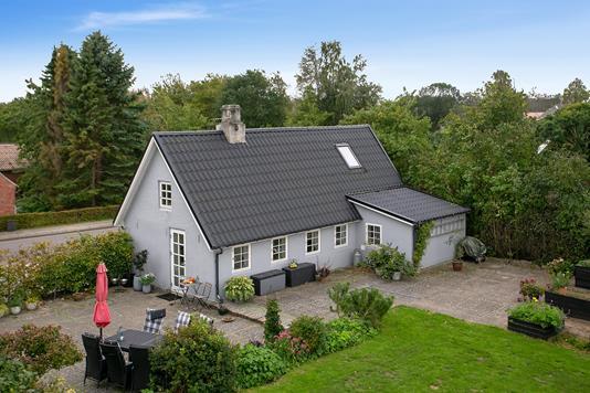 Villa på Bilsbækvej i Odder - Set fra haven