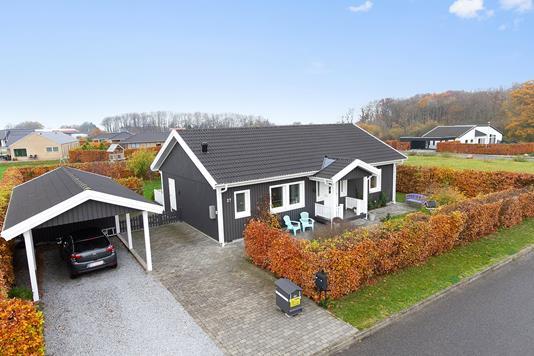 Villa på Bøgelunden i Odder - Mastefoto