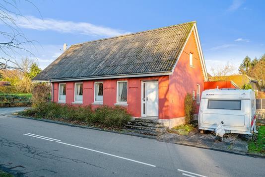 Villa på Bygaden i Odder - Ejendommen