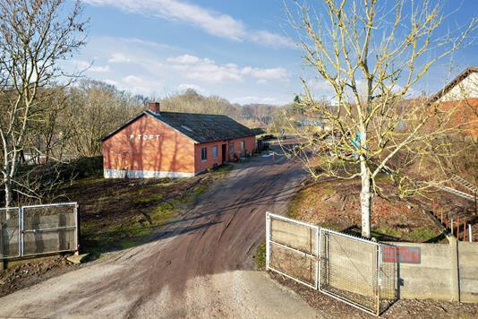 Villa på Solbakkevej i Odder - Set fra vejen