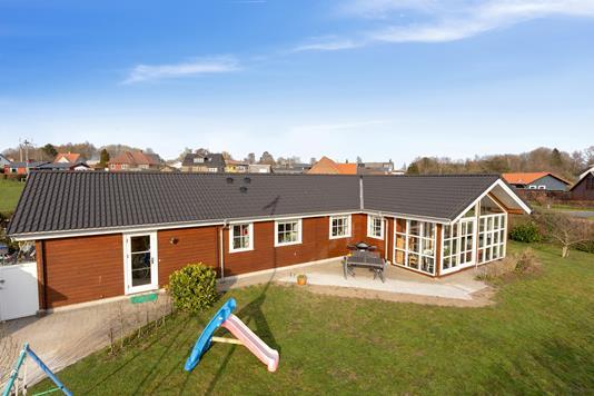 Villa på Torupvej i Hundslund - Set fra haven